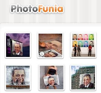Красивый и качественный фотомонтаж от Photofunia