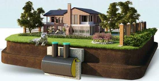 В загородном доме должна быть канализация